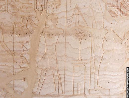 Albast Kapel van Amenhotep I. Copyright EgyptianRealms.com