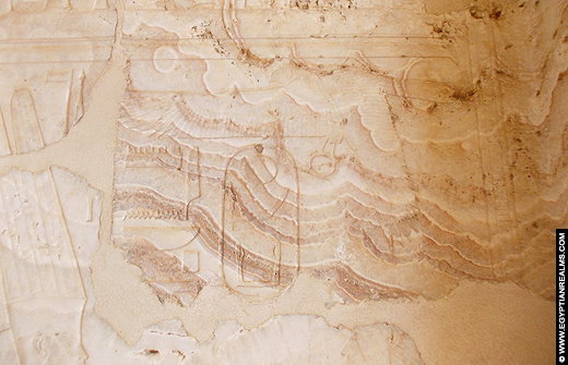 Albast Kapel van bij de Karnak Tempel.. Copyright EgyptianRealms.com