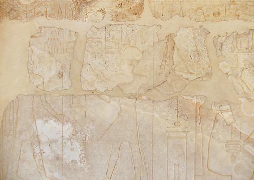 Albast Kapel bij de Karnak Tempel.. Copyright EgyptianRealms.com
