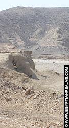 De omgeving van de Nekhebet Tempel te El-Kab.