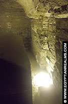 Serapeum in Saqqara.