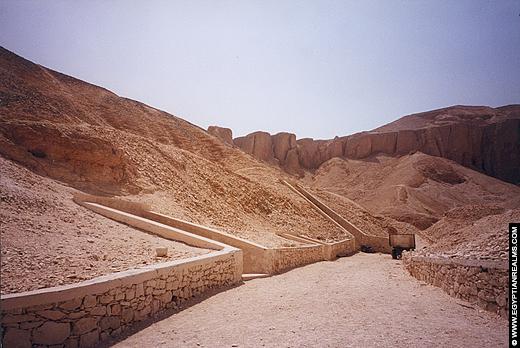 Vallei der Koningen op de Westbank van Luxor.
