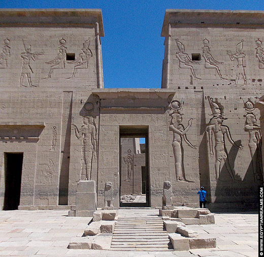 Philae Tempel in Awan, Egypte.