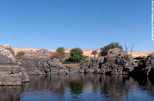 Aswan in Egypte.