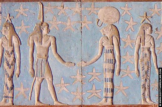 Oud-Egyptische sterrenbeeld Tweeling