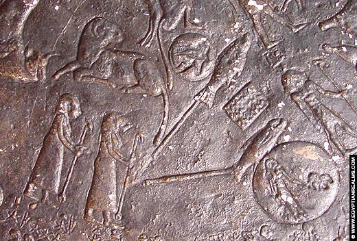 Sterrenbeeld Vissen uit de oud-Egyptische Zodiak.