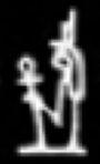 Hieroglyph Aset.