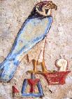 Hieroglyph Heru.
