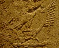 Hieroglyph boat.