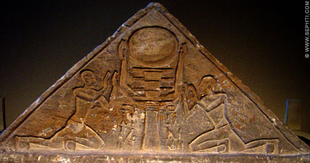 Relief of the Djed.