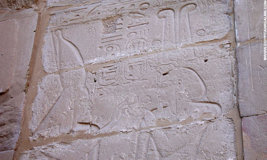 Relief from the Karnak Temple.