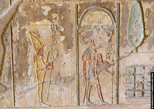 Relief uit een tombe van El-Kab.