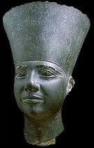 Beeld van farao Userkef.