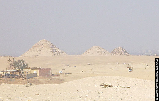 Piramides bij Saqqara.
