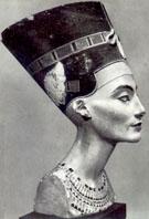 Koningin Nefertiti.