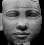 Beeld van Pharaoh Chephren.