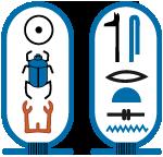 Cartouche van farao Sesostris I.