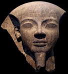 Fragment van de sarcofaag van Ramses V.