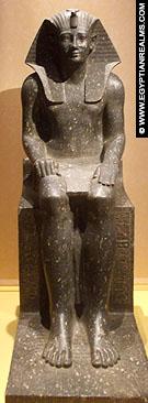 Beeld van farao Thutmoses I.