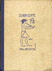 Geheim Egypte, Paul Brunton.