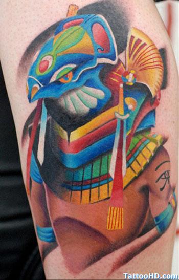 Tattoo van Horus. Copyright TattooHD.com