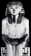 Beeld van farao Amenhotep I.