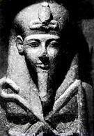 Beeld van farao Siptah.