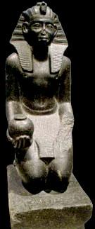 Beeld van farao Sobekhotep I.