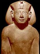 Beeld van farao Amenhotep II.
