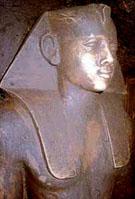 Beeld van farao Neferhotep I.