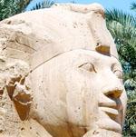 Gezicht van Sphinx.