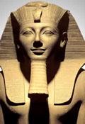 Pharaoh met Baard en hoofddoek
