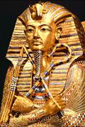 Sarcofaag van Pharaoh Tutankhamun.