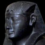 Beeld van Pharaoh Hakoris.