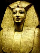 Vergulde sarcofaag van Antef I.