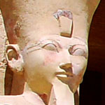 Pharaoh Hatjepsut.