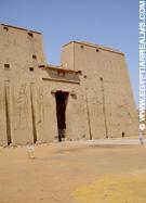De Tempel van Edfu.