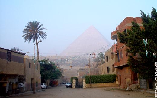 Grote Piramide van Giza.