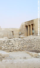Tempel bij Giza.