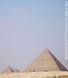 Kleine Piramide van Giza.