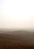 Woestijn bij Giza.