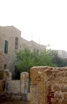 Huizen in Giza.