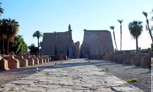Tempel van Luxor.