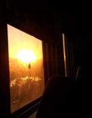 Nachttrein naar Aswan.