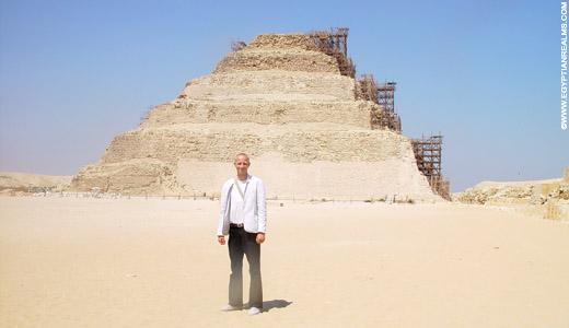 Piramide van Sakkara.