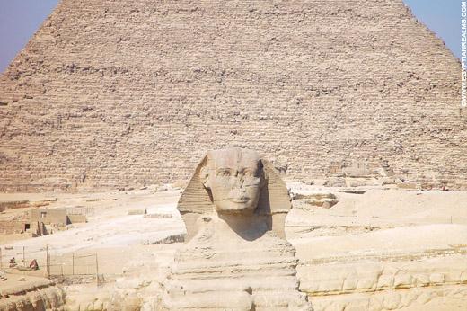 Sphinx en Piramide.