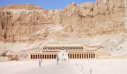 Tempel van Hatjepsut.