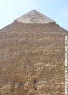 Top van de grote Piramide.