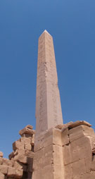 Obelisk in de Karnak Tempel.
