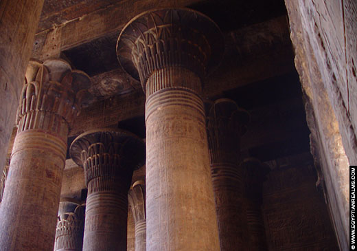 Tempel van Khnum te Esna.